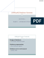 FIT328 01 Introduction Database Environment