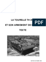 [Armor] - [Manuals] - La Tourelle TH20 AMX10P Et Son Armement de Bord Texte Et Figures