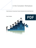 Handbook - Working in the Canadian Workplace a Guide for Newc