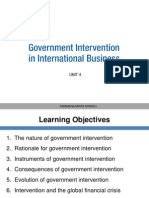Unit 4 Govt Intervention