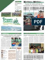 15ª EDIÇÃO - JORNAL NATÉRCIA EM NOTÍCIA - AGOSTO DE 2012