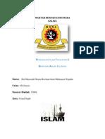 Folio Pendidikan Agama Islam Tingkatan 2 Bahagian Ahlak Islamiah