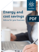 Business Energy and Cost Savings Brochure 2