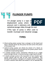 PLUNGER PUMPS ppt