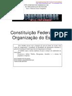 Direito constitucional_Da Organização do Estado