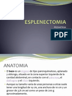 Esplenectomia Anato y Tecnica Qx