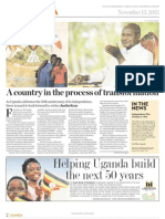 Uganda Published Section By Archimedia in THE TIMES