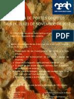 Programa Jornada Portes Obertes 2012