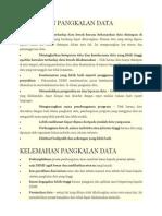 Kebaikan Dan Kelemahan Pangkalan Data