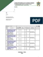 Plan Anual de Contrataciones y Adquisiciones