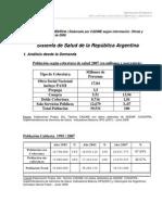 CADIME - Sistema de Salud de La Argentina