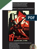 El PCE en la II República. Un balance historiográfico