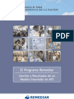 Ministerio de Salud - El Programa Remediar - 2007