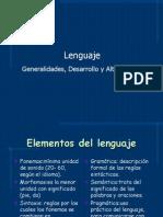Lenguaje, Desarrollo, Alteraciones, Lenguaje Escrito, Alexia