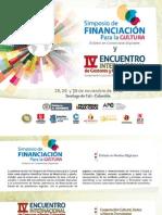 Programación Simposio y Encuentro 2012