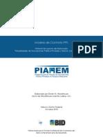 Modelo de Contrato de Asociaciones Publico-Privadas (Mexico