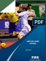 Regras oficiais Futsal 2012