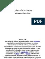 Historia de Las Bolsas de Valores