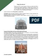(1377-1446) Filippo Brunelleschi