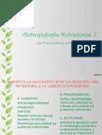 CLASE 10-  ANTROPOLOGÍA NUTRICIONAL I