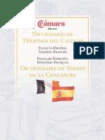 Diccionario de términos del calzado (Frances - Español)