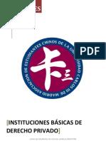 Instituciones Básicas de Derecho Privado