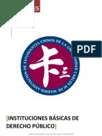 Instituciones Básicas de Derecho Público