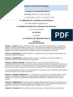 Ley Organica Del Ministerio Publico 346