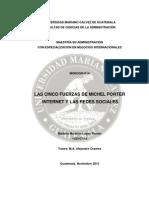 Fuerzas de Porter, Internet y Las Redes Sociales