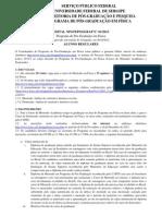 Edital NPGFI 2013-1