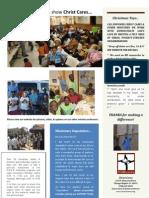 Christ Cares Fall Newsletter 2912, pg 2