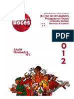 Revista Voces 2012