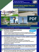 Laguindingan Airport Development Updates October 24 2012