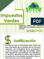 Impuestos Verdes