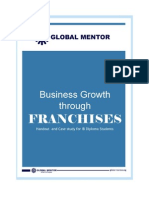Business Growth  through Franchise