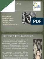 .Pptx Esquisofrenia Francisco y Marcela