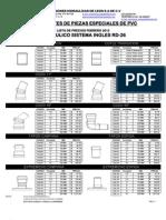Lista de Precios 2012