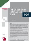 The Greek Debt Trap- An Escape Plan (English)