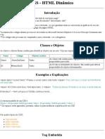 CSS - HTML Dinâmico