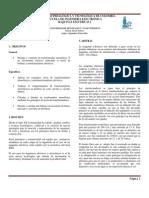 Informe Transformador y Electroiman