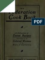 Bertha L. Turner--The Federation Cook Book (CA. 1910)