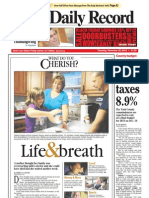Front page - York Daily Record/Sunday news - Thursday, Nov. 22, 2012