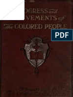 Joseph R. Gay--Progress and Achievements of the Colored People (c. 1913)