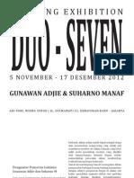 Katalog_Pameran GA - SUHARNO_Revisi 9 November 2012