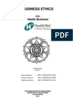 Kasus Health Business _ Etika Bisnis