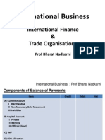 07 Int Busi. Int Fin & Trade Orgs. Sess 10, 11, 12