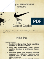 NIKE Inc Cost of Capital _ Financial Management