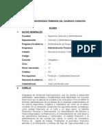 Administracion Financiera I - 2012-II