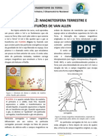 3.2. Magnetosfera terrestre e Cinturões de Van Allen