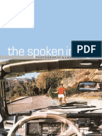 The Spoken Image - Photography & Language